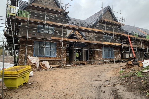 Property development finance for Heswall house
